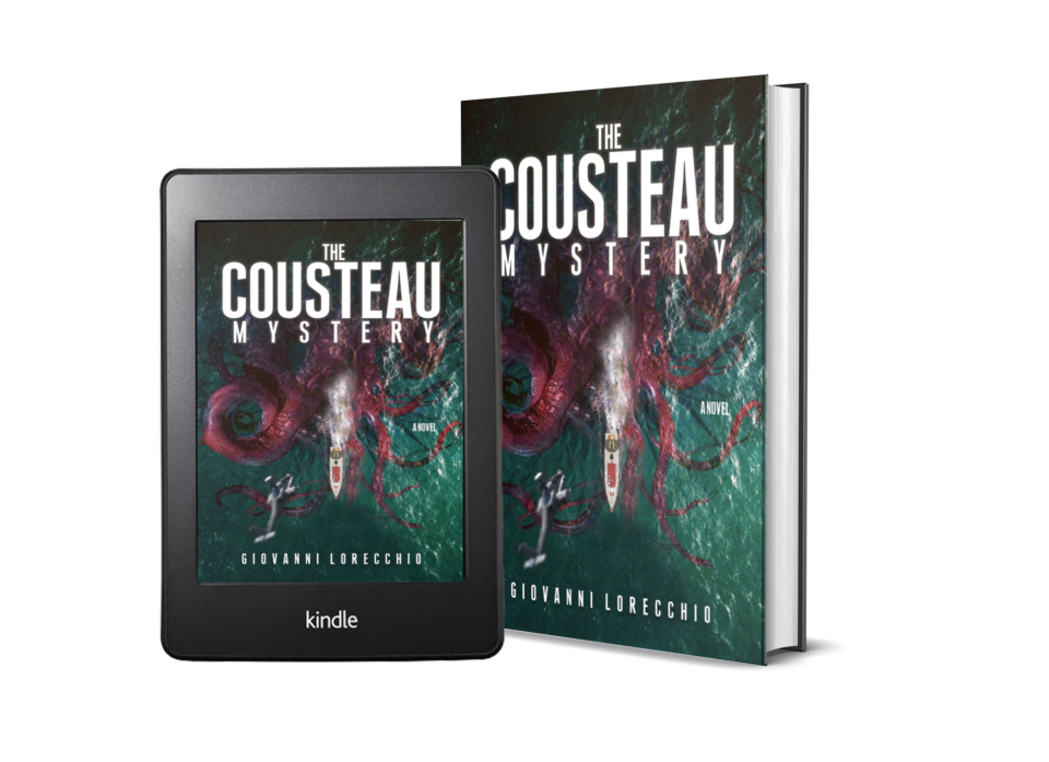 THE COUSTEAU MYSTERY (U.S. COVER)